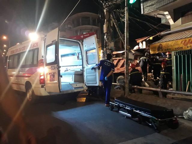 Vụ tai nạn làm ít nhất 3 người bị thương.