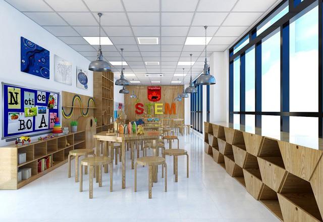 Các lớp học tại Sunshine Maple Bear đều được thiết kế theo tiêu chuẩn của Maple Bear Canada