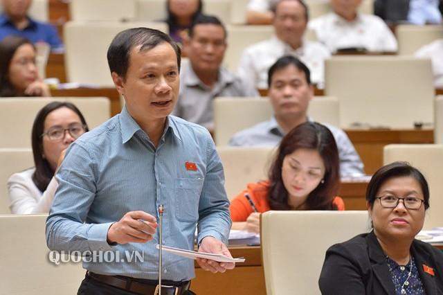 Đại biểu Quốc hội Phạm Tất Thắng. ảnh: Quochoi.vn.