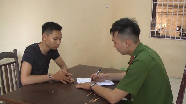 Công an thị xã Mỹ Hào đang tạm giữ hình sự đối với Thắng