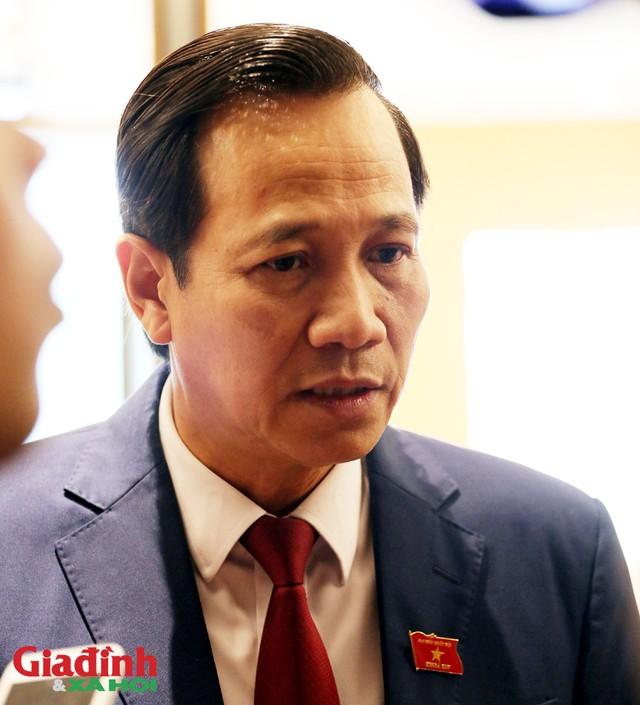Bộ trưởng Bộ Lao động - Thương binh và Xã hội Đào Ngọc Dung. Ảnh: Lê Bảo.
