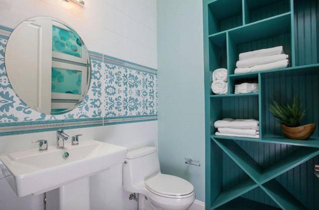 Một ngôi nhà trang trại ở New York được thiết kế phòng tắm theo ý tưởng này.