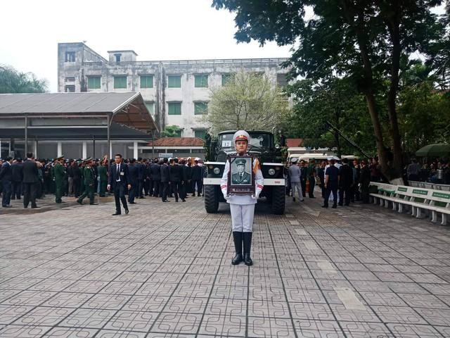 Lễ di quan Đại tướng Lê Đức Anh. Ảnh: Lê Bảo