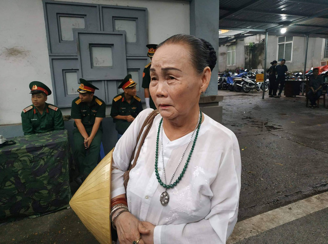 Bà Mai Thị Nhật. Ảnh: Cao Tuân
