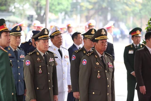 Đoàn Chính phủ Campuchia. Ảnh: Lê Bảo