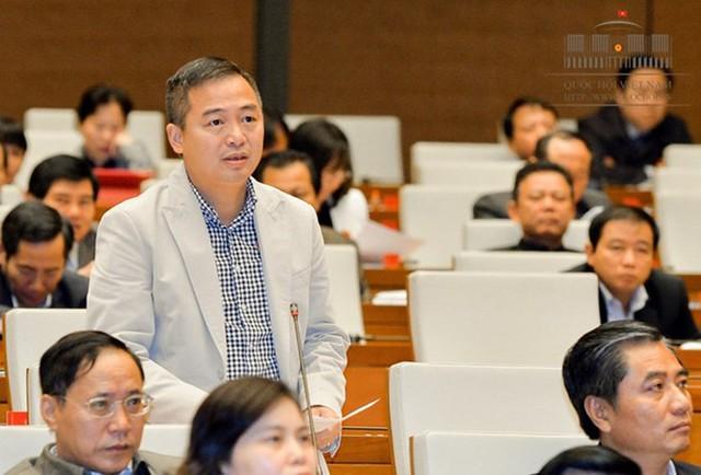Đại biểu Nguyễn Lân Hiếu (đoàn An Giang). Ảnh: Quochoi.vn.
