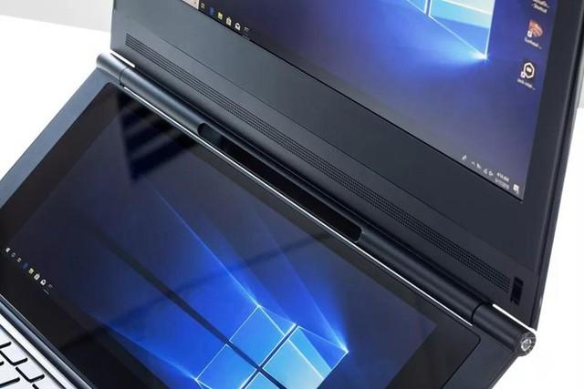 Windows Lite được cho rằng sẽ là hệ điều hành hỗ trợ cho các sản phẩm laptop  màn hình kép. Ảnh: The Verge.