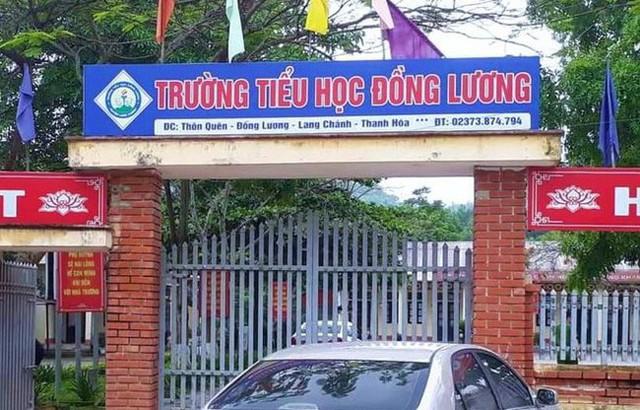 Trường Tiểu học Đồng Lương, huyện Lang Chánh, tỉnh Thanh Hóa. Ảnh: TL