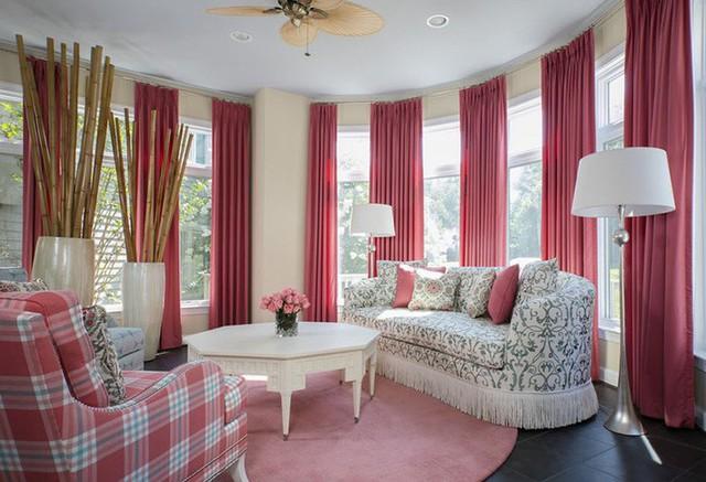 Một không gian nghỉ ngơi với thiết kế tuyệt vời thể hiện được nét nữ tính của chủ nhân căn phòng.