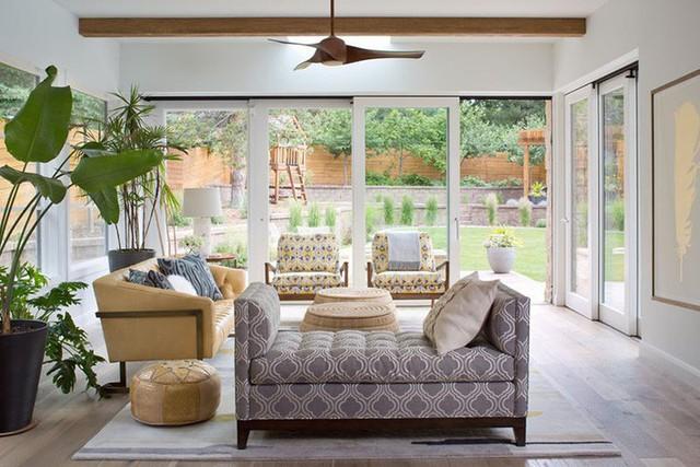 Sở hữu một không gian nghỉ ngơi, thư giãn riêng tại nhà như thế này là một điều cần thiết với những ai không có đủ thời gian cho những chuyến đi xa.