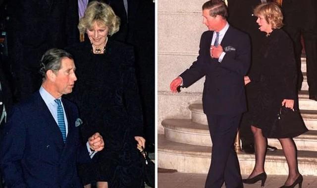Sau ồn ào ngoại tình, Thái tử Charles và người tình Camilla không hề công khai chụp ảnh chung cho đến năm 1999, hai năm sau khi Diana mất và 6 năm trước khi Thái tử kết hôn lần hai. Ảnh: UK Press.
