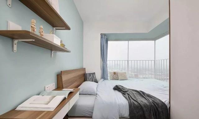 Không gian phòng ngủ đẹp như mơ.