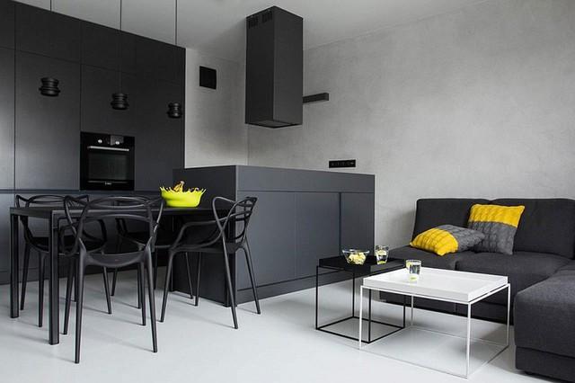 3. Những bộ sofa góc luôn là lựa chọn đáng tham khảo cho những phòng khách nhỏ. Nó còn giúp bạn có thể khéo phân chia khu vực cho những căn phòng đa năng nữa đấy. Về bàn nước, tất nhiên bạn chỉ cần một bàn nước thanh mảnh cũng đã rất đủ dùng.