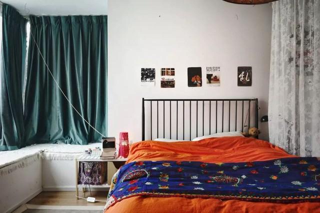 Phòng ngủ cá tính.