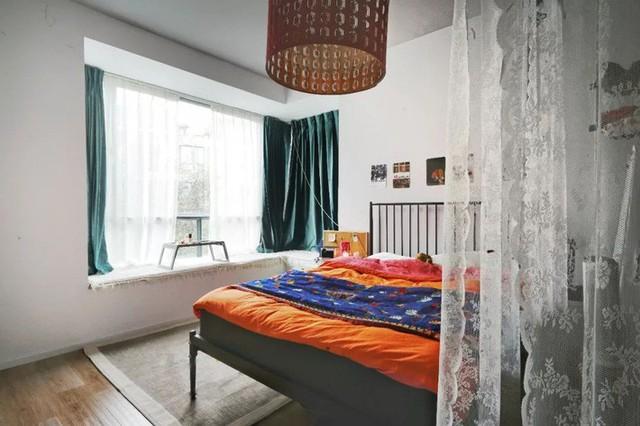 Không gian đẹp sinh động với những gam màu nhấn độc đáo.