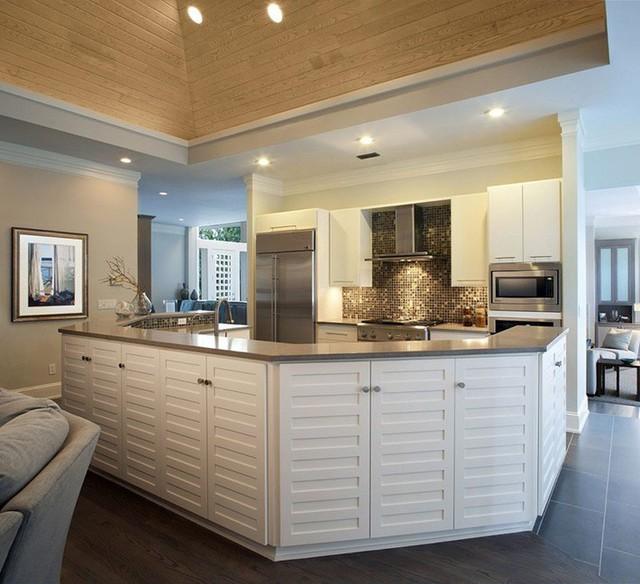 Vậy là chỉ với một chút nới cao trần nhà bếp thôi gia đình bạn đã nhận được rất nhiều điều tiện dụng hơn rồi. Vậy còn chờ gì mà bạn không áp dụng ngay xu hướng này cho gia đình mình nhỉ?