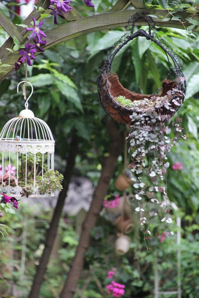 Cách decor dịu dàng cho khu vườn thêm quyến rũ.