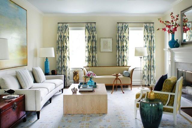 Chẳng cần theo bất kỳ phong cách nội thất nào nhưng ai cũng rõ rằng việc sử dụng một bộ rèm cửa họa tiết sẽ tạo ra điểm nhấn ấn tượng cho căn phòng.