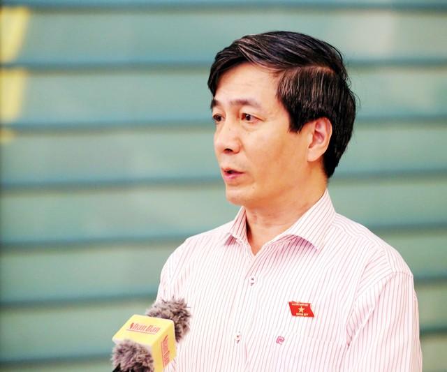 Đại biểu Bùi Thanh Tùng cho rằng, người lương thiện muốn bảo vệ lẽ phải thì sợ bị trả thù, sợ chính mình cũng bị xâm hại.