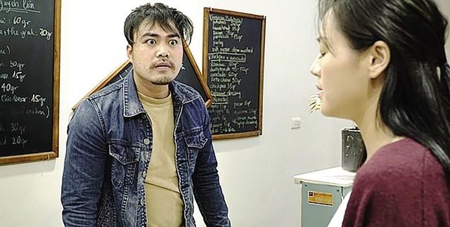 Hình ảnh Khải do Trọng Hùng thủ vai trong phim rất đáng sợ.