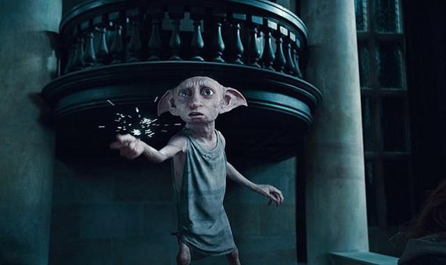 Gia tinh Dobby trong phim Harry Potter. Ảnh: AP.
