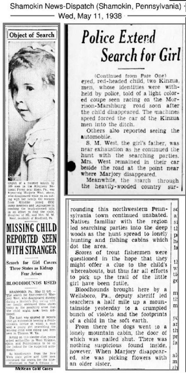 Những bài báo về Marjorie xuất hiện dày đặc.