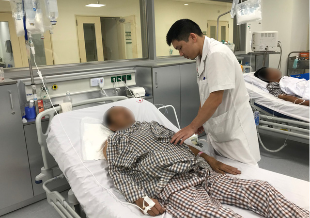 3 ngày sau phẫu thuật, sức khỏe của bệnh nhân ổn định, hệ tiêu hóa đã hồi phục và hoạt động bình thường. Ảnh: BVCC