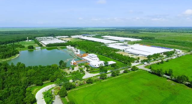 """""""Resort"""" nổi bật lên như một ốc đảo xanh mát giữa cái nắng nóng của vùng đất Tây Ninh"""