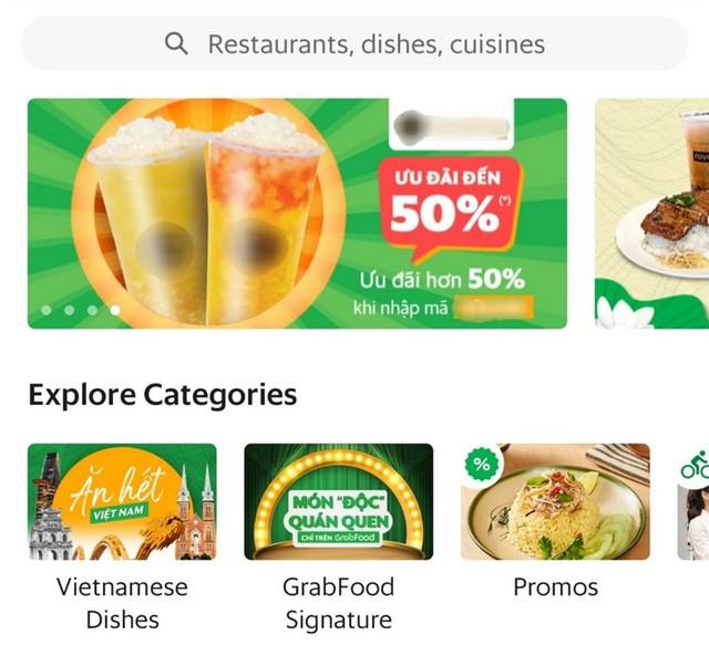 Các ứng dụng như Grab hoàn toàn có thể thu phí nếu các nhà hàng đối tác muốn quảng bá qua các chương trình khuyến mại.