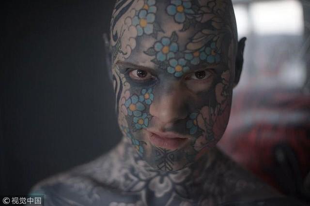 Tattoo là niềm đam mê bất tận Sylvain Helaine