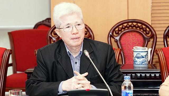 Giáo sư Nguyễn Đình Cử - nguyên Viện trưởng Viện Dân số và các vấn đề xã hội, Đại học Kinh tế quốc dân. Ảnh: ĐBND