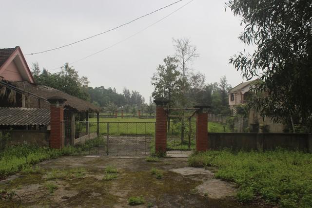 Khung cảnh bãi tắm Xuân Thành hoang tàn đến sợ.