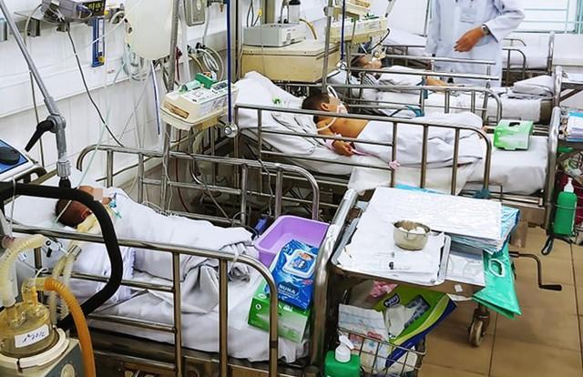 Theo bác sĩ, tình trạng ngạt thở nặng vì nổ máy phát điện rất hiếm gặp.