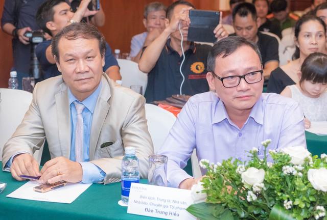 Nhà văn Đào Trung Hiếu (Phó đạo diễn phim) tin tưởng giao vai phản diện ngầm cho NSUT Nguyễn Hải