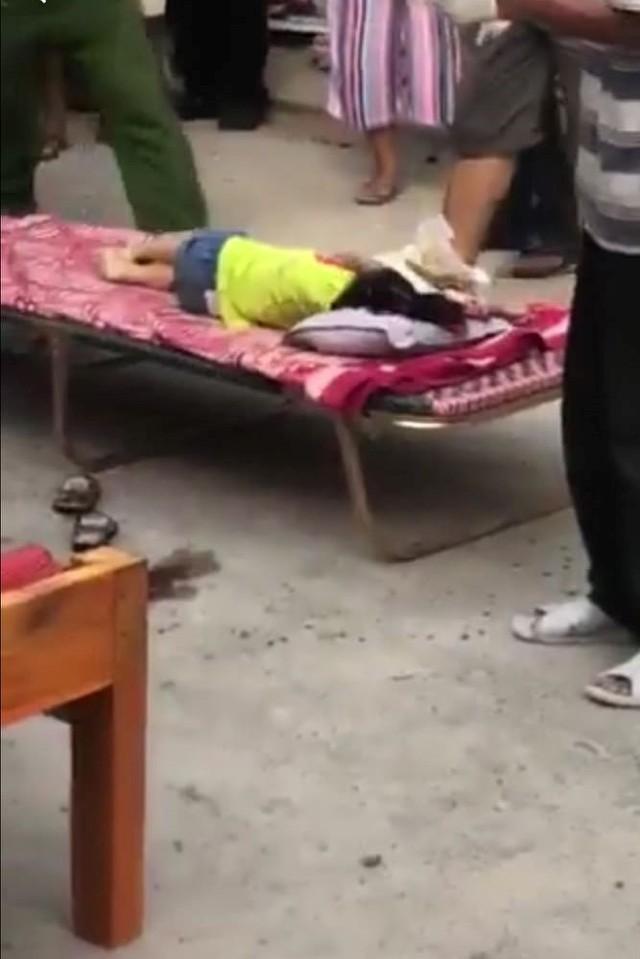 Bé gái 3 tuổi tử vong thương tâm.