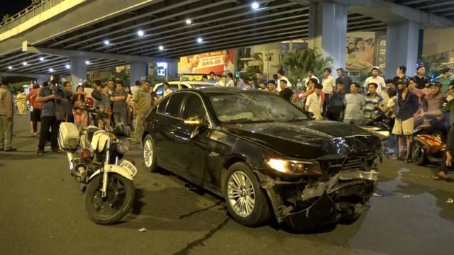 Hiện trường vụ tai nạn kinh hoàng, khiến 1 người chết và nhiều người bị thương