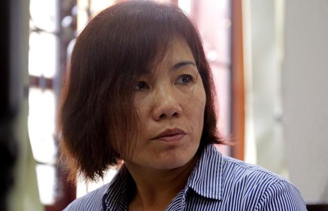 Bà Nga tại tòa sáng 17/6. Ảnh: Trương Khởi.