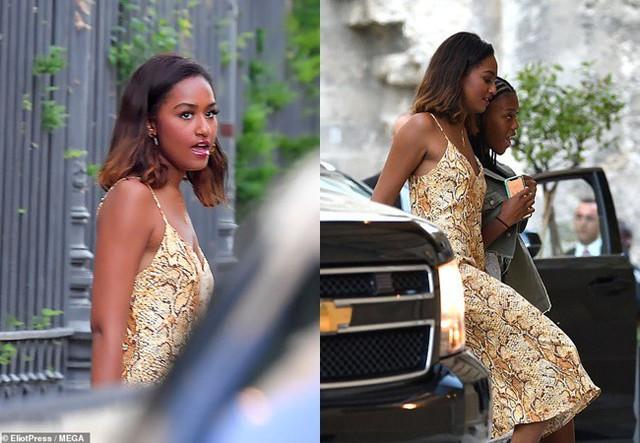 Con gái út của ông Obama gây bất ngờ với vẻ trưởng thành, xinh đẹp, quyến rũ.