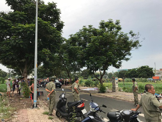 Khu vực nơi người dân phát hiện nạn nhân tử vong