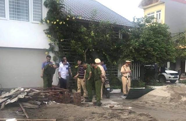 Lực lượng công an đang tiến hành điều tra vụ việc