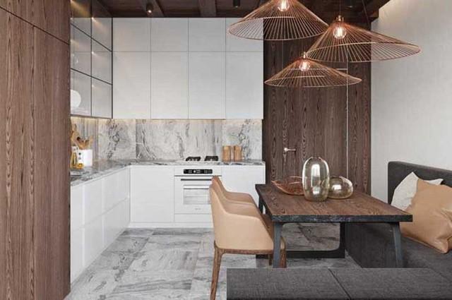 Mọi lựa chọn trong căn bếp hiện đại đều hướng đến sự tiện dụng khi sử dụng và giảm thiểu tối đa sự xuất hiện của quá nhiều đồ dùng nhà bếp.