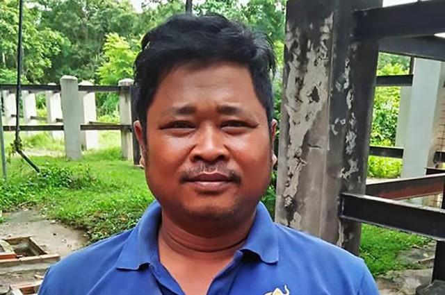 Prum Tam đang nằm trong khoa chăm sóc tích cực của bệnh viện sau khi tự sát không thành. Ảnh: AsiaWire.