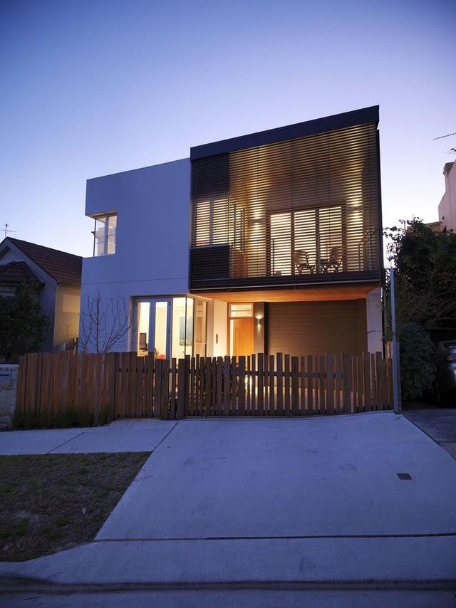 Mặt tiền của ngôi nhà ở Sydney.
