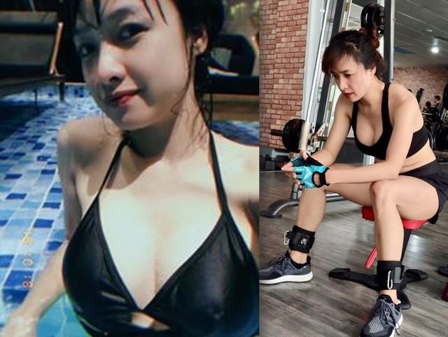 Sau khi sinh con, nữ diễn viên sinh năm 1987 thường xuyên dành thời gian tập gym để lấy lại vóc dáng thon gọn. Trên trang cá nhân, ngoài những vai diễn, Lê Bê La còn có sở thích khoe chiến tích sau mỗi buổi tập.