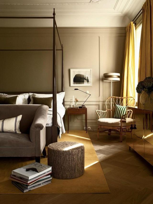 Nếu là các căn hộ chung cư thì Scandinavian cũng là một sự lựa chọn không tồi nếu bạn biết cách ứng dụng như trong thiết kế nhà của Ilse Crawford ở London này.