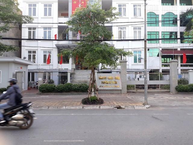 Trụ sở làm việc UBND phường Đề Thám, nơi đối tượng Dương giữ chức vụ Bí thư đoàn phường trước khi xảy ra sự việc. Ảnh: K.L
