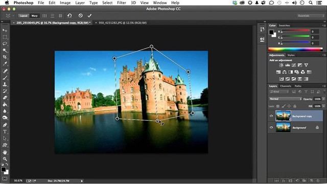 Phần mềm Adobe Photoshop CC. Ảnh: AplikasiShop.