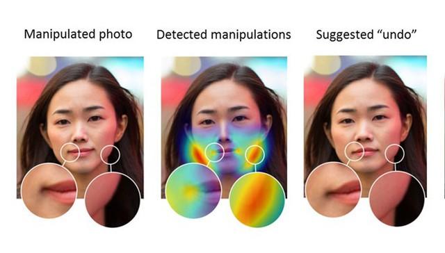 Những bước mà AI xác định bức ảnh có bị chỉnh sửa hay không. Ảnh: Adobe.