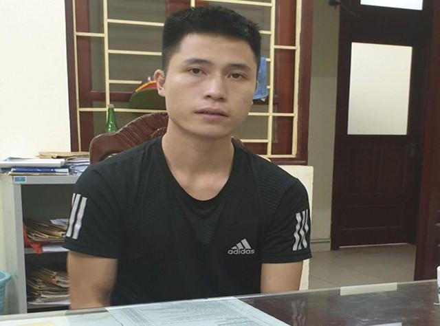 Nguyễn Duy Cường tại cơ quan điều tra.