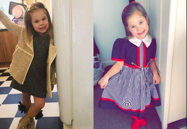 Marcy Culverwell, 5 tuổi.